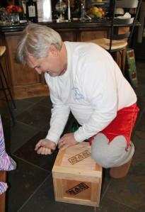 David and his Man Crate