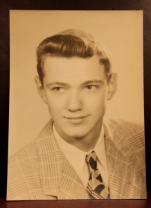 Dad's 1950 Senior Picture