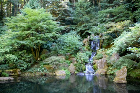 Japanese Gardens -- Portland